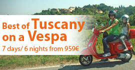 Tuscany on a Vespa