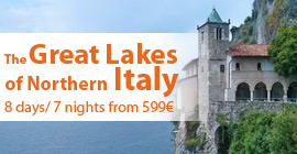 The Great Lakes of Northern Italy