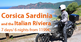 Corsica, Sardinia and the Italian Riviera